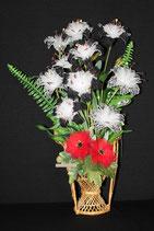 Lys hybride & Dahlia mignon