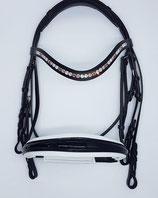 NEU - Kandare supersoft - konisches Reithalfter (auch für empfindliche Pferde geeignet)