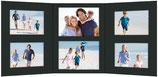 Momentum 3-delige fotomap met verschillende passepartouts