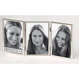 Fotolijst Chloe Portret 3 x 10 x 15 cm. zilver