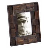 Fotolijst Liam Portret 10 x 15 cm. Kleur Notenhout