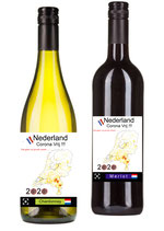 Nederland Corona Vrij vier het met wijn € 5,00 per fles voor De Hartstichting