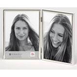 Fotolijst Chloe Portret 2 x 10 x 15 cm. zilver