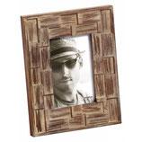 Fotolijst Liam Portret 10 x 15 cm. Kleur Donkerbruin