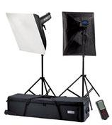Falcon Eyes Studioflitsset TFK-2900L met LCD Scherm