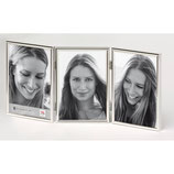 Fotolijst Chloe Portret 3 x 13 x 18 cm. zilver