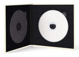 Momentum DVD-Cover voor 2 DVDs Akilea DUO 16.5 x16.5 cm.  Velours creme