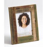 Fotolijst Steigerhout luxe 10 x 15 cm. Kleur Bordeaux