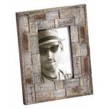 Fotolijst Liam Portret 10 x 15 cm. Kleur Grijs