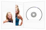 CD/DVD & Foto presentatiemap wit