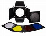 Falcon Eyes Kleppenset, Honingraat en Filters SFA-BHC