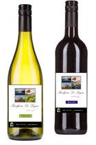 Wijn met persoonlijk etiket per fles
