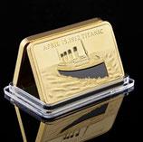 Titanic herdenkings Gold bar