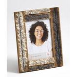 Fotolijst Steigerhout luxe 15 x 20 cm. Kleur Creme