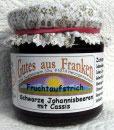 Johannisbeer Fruchtaufstrich mit Cassis (schwarz)