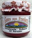 Kornelkirschen – Erdbeer Fruchtaufstrich mit Marzipan
