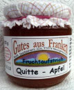 Quitten-Apfel Fruchtaufstrich