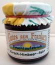 Kirsch – Himbeer Fruchtaufstrich mit Sekt