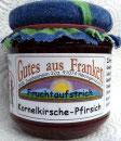 Kornelkirschen - Pfirsich Fruchtaufstrich
