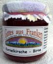 Kornelkirschen - Birnen Fruchtaufstrich