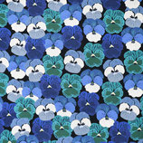 Wild Flowers blau PW