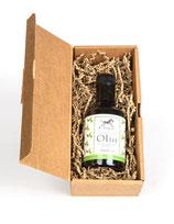 "Geschenkbox Olivenöl ""basilico solo"""