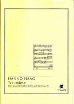 Liederzyklus Traumlese