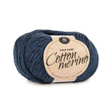 Cotton Merino 170 m -  mitternachtsblau 001
