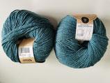 Cotton Merino 170 m - blaue Koralle /fb 21
