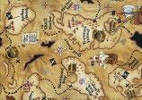 Piraten, Schatzkarte, Timeless Treasures, 09349150613