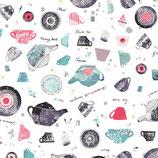 Wonderland by Katarina Roccella for Art Gallery Fabrics, Mint-Tea Condition, 10477550716