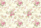 Große Rosen-Bouquets creme, Quilt Gate 03339550716