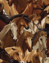 Horses von Michael Searle, Timeless Treasures, 12186150716