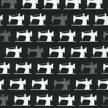 Schwarze und graue Nähmaschinen, Robert Kaufman, 05199550716