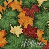 Forest Gold, Cant Stop Falling, Hoffman California Fabrics, 05615850816