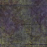 Grüne und violette Punkte auf dunkelblau, Batik, Timeless Treasures, 09891050915