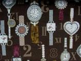 Uhren, braun Cosmo Textile 10080050812
