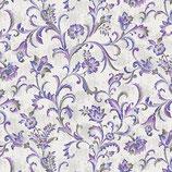 Fresco Scroll Violet, Lilacs in Bloom, Benartex, 08075950718