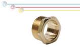 Viti semplici in ottone con filettatura maschio ISO 228 G B