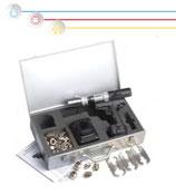 """""""REMS"""" Kit con attrezzo automatico di  flangiatura per tubi CSST"""