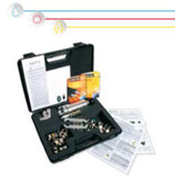 """PLURIMA LIGHT"" Kit con attrezzo manuale di flangiatura per tubi CSST"
