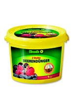 Hack 2 Stufen Beerendünger NPK 15-8-12 + 2%MgO im 1kg Eimer