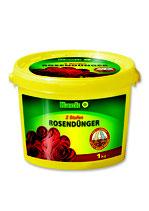 Hack 2 Stufen Rosendünger NPK 14-10-14 + 2%MgO im 1kg Eimer