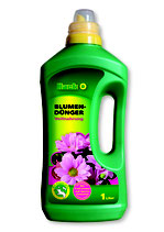 Hack Blumendünger NPK 8-8-6+Spurennährstoffe in der 1000ml Flasche