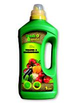 Hack Bio Tomaten- & Gemüsedünger NK 4-6 in der 1000ml Flasche