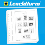 LEUCHTTURM SF Supplement Monaco carnet de timbres 2020