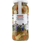 Canned vegetables 325g