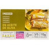Sardinen in Olivenöl 115g