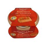 Rillettes de Sardines aux Tomates, Mouettes d'Arvor, 125 g