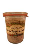 Kaninchen-Rillettes im Weckglas, Lapinchen, 125 g